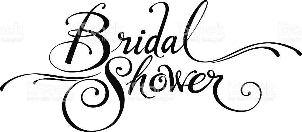 Bridal shower clipart luxurious and splendid
