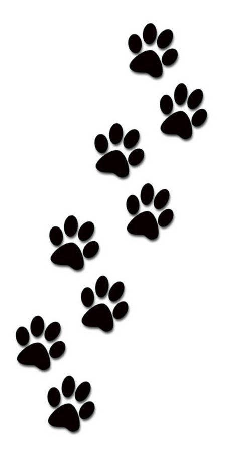Dog paw print clip art 2