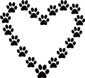 Dog paw print clip art free download 22