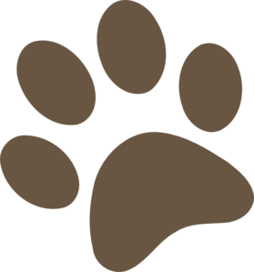 Dog paw print clip art free download 23