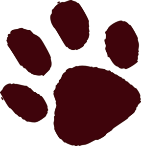 Dog paw print clip art free download 4 2
