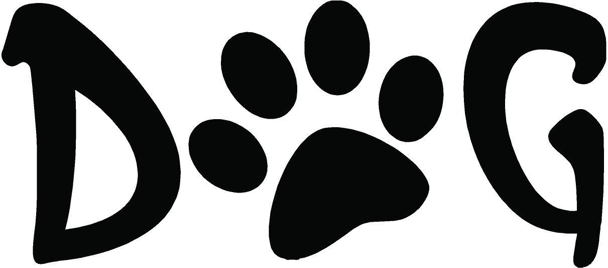Dog paw print free dog paw clip art prints text print clipart