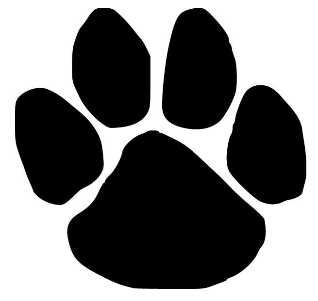 Dog paw print images holdrege area library clip art
