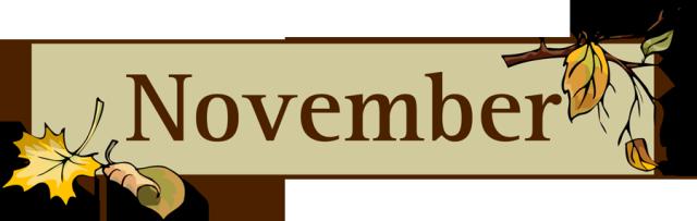 Funny november clipart