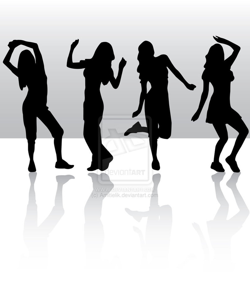 Group zumba clipart clipart