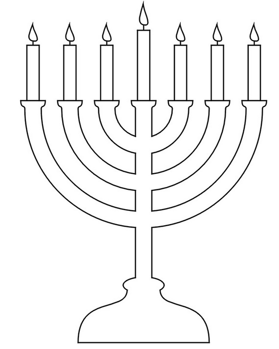 Hanukkah coloring pages menorahs this is not the hanukkiah 9 clipart