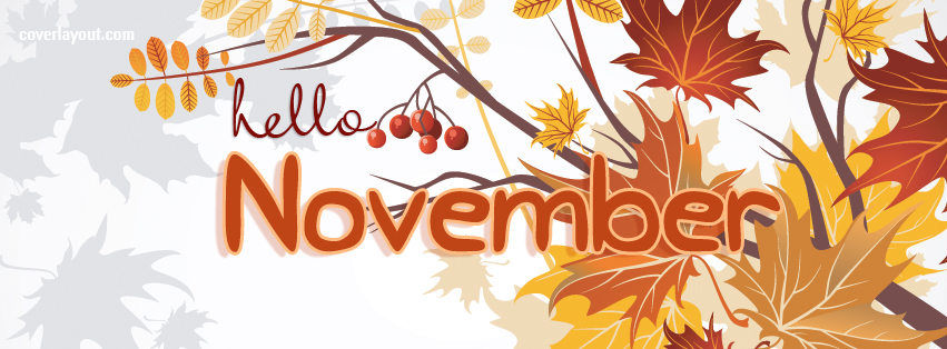 Hello november clipart clipartxtras
