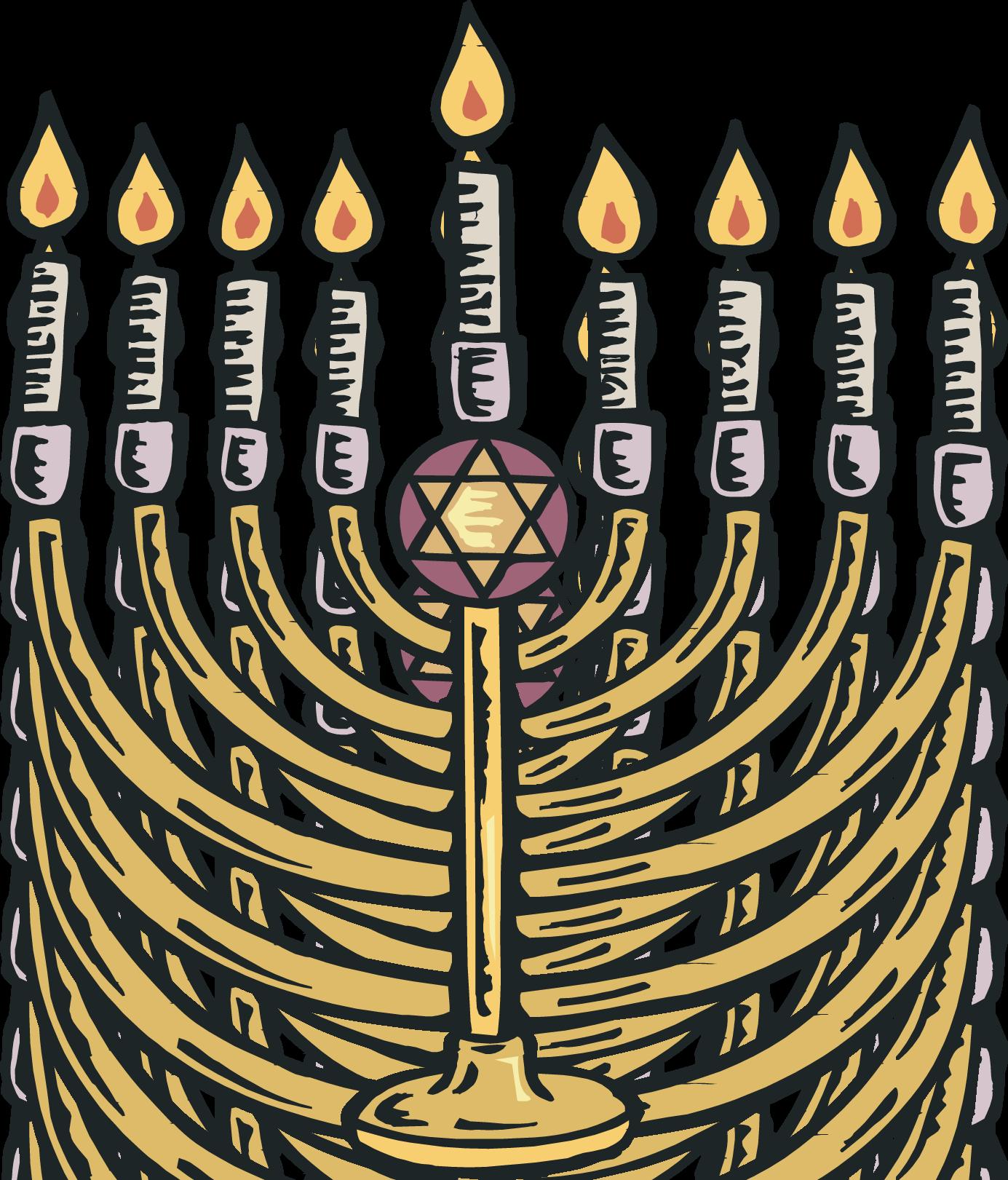 Jewish menorah cliparts free download clip art 3