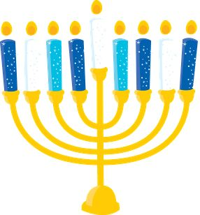 Jewish menorah cliparts free download clip art 5