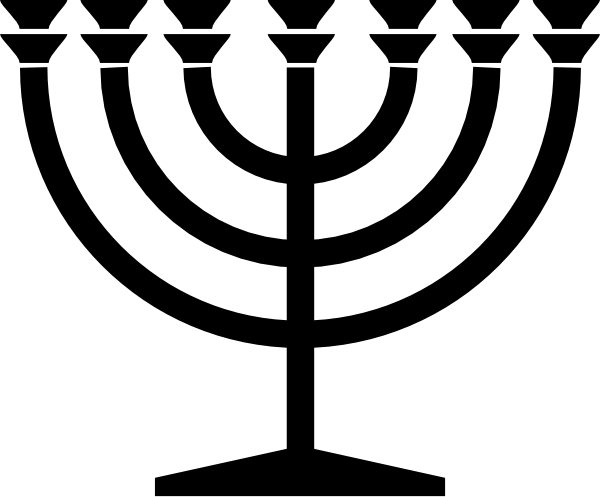 Menorah clip art at vector clip art 2