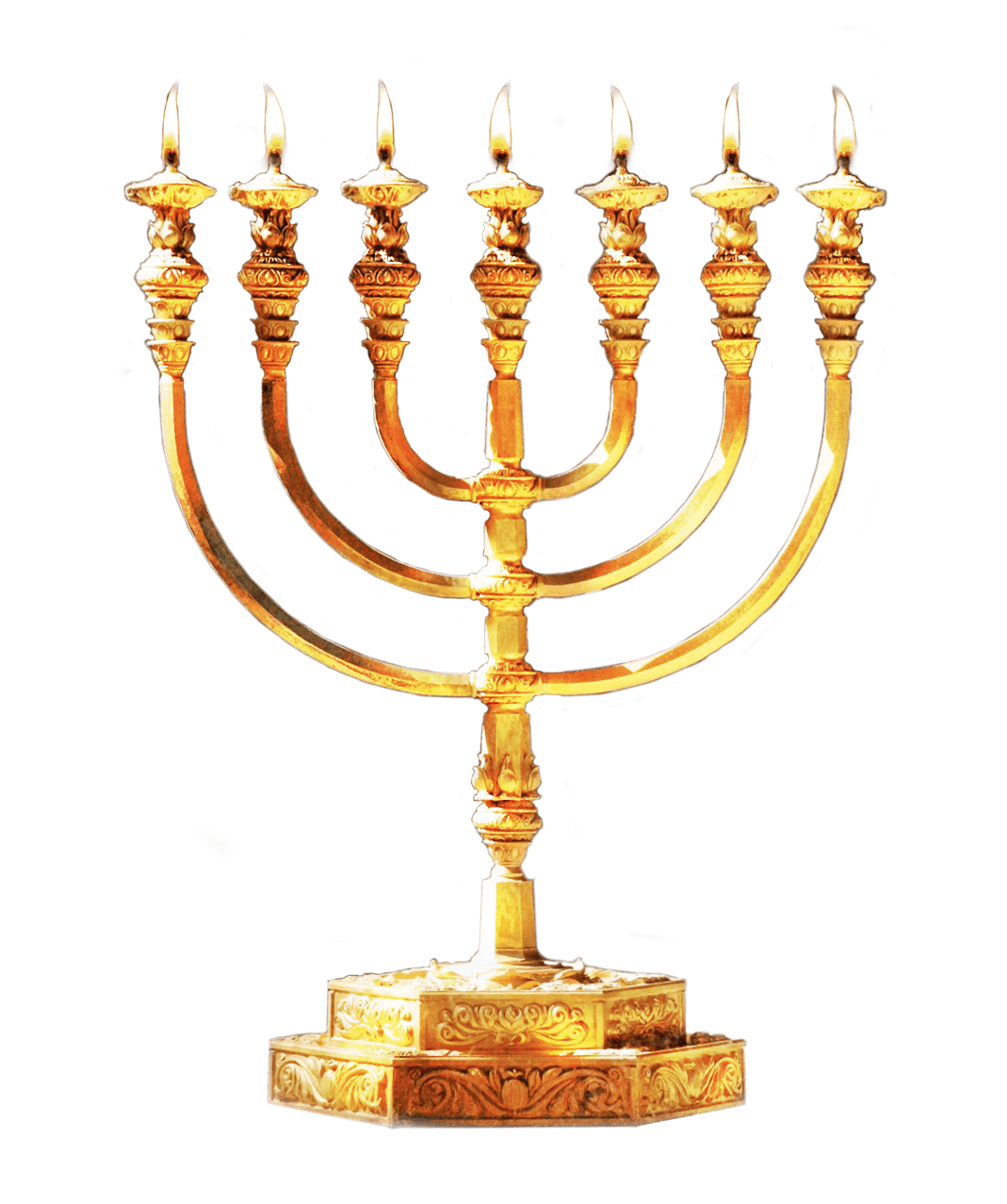Menorah clipart transparent stick