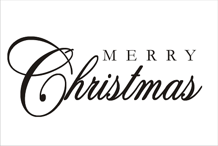 Merry christmas black and white merry christmas sign clip art