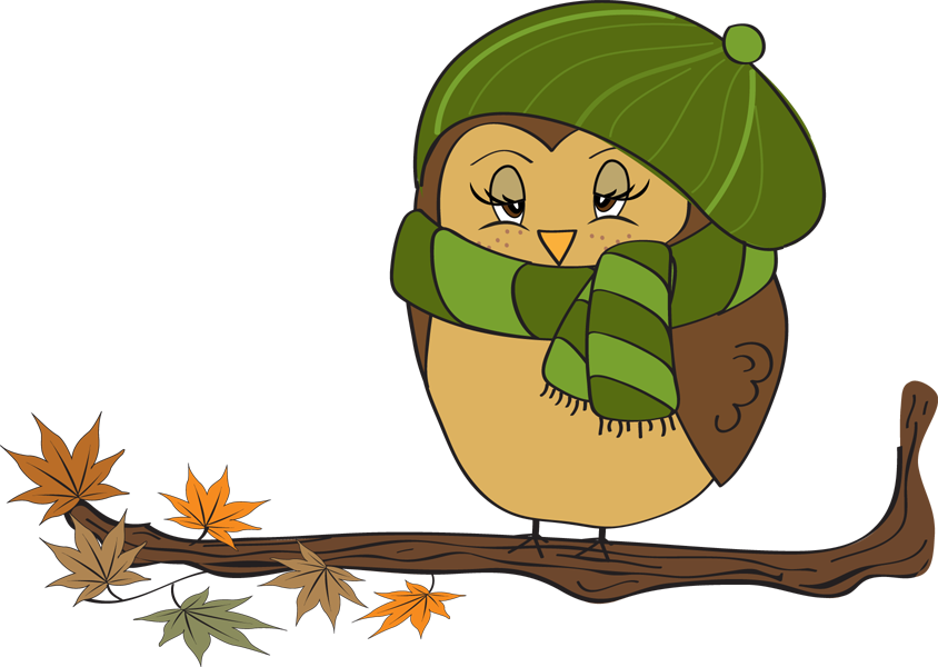 Owl clipart november pencil and in color owl
