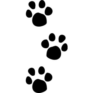 Paw prints dog paw print stamps clip art clipartbarn